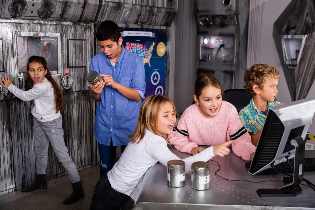 Escape Room Game für Schulklassen und Wandertage